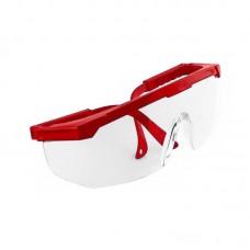 Очки защитные для маникюра и педикюра, Красные