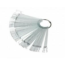 Палитра веер на кольце, Прозрачная