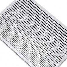 Лента клеевая для дизайна полосочки, черные