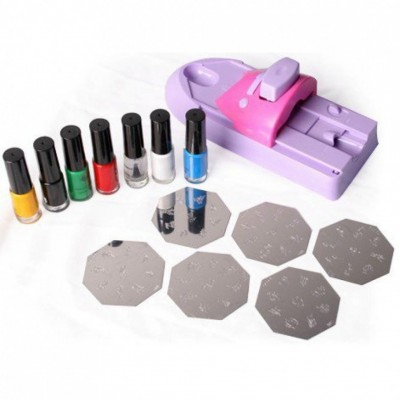 Принтер для стемпинга (набор) Nail Colors Machine