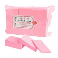 Безворсовые салфетки (Розовые) 1000 шт.