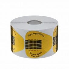 Формы для наращивания ногтей (золото, широкие) уп. 500 шт.