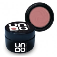UNO, Моделирующий камуфлирующий гель Soft Caramel, 15 мл.