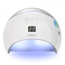Лампа SUN 6 UV/LED 48 Вт, белая