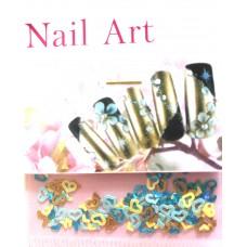 Пластиковые украшения для ногтей