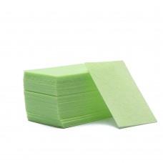 Безворсовые салфетки (зеленые) 100 шт.