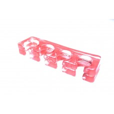 Разделитель для пальцев ног силиконовый (розовый)