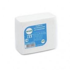 AREAL, Безворсовые салфетки 100 шт. 10*10 см