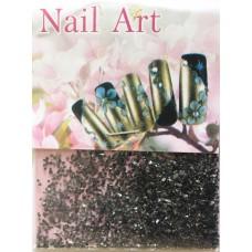 Стеклярус для дизайна ногтей