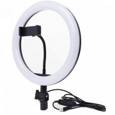 Кольцевая светодиодная лампа 26 см со штативом Ring Fill Light
