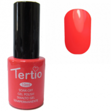 Tertio, Гель-лак №017 (неоновый коралл) 10 мл