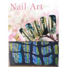 Ткань на клеевой основе для дизайна ногтей