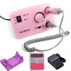 Nail Master, Аппарат для маникюра и педикюра ZS-602 45000 об/мин / 65W, розовый