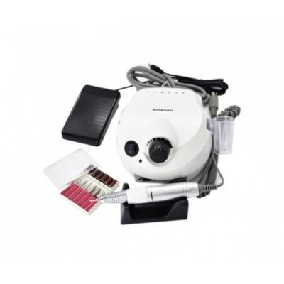 Nail Drill, Аппарат для маникюра и педикюра DM 202 (Белый, 35000 об/мин)