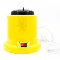 Стерилизатор гласперленовый (шариковый) желтый