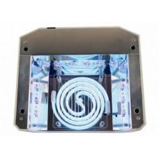Лампа LED+CCFL для маникюра Белая  «Даймонд» 36 Вт