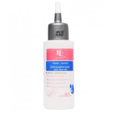 DeLakrua, Обезжириватель-антисептик Cleaner Sanitizer с капельным дозатором 80 мл