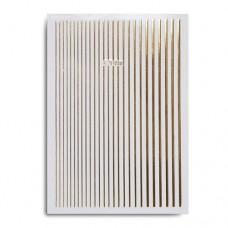 Лента клеевая для дизайна полосочки, золотые